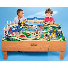 imaginarium classic train table with roundhouse imaginarium classic train table with roundhouse rideau township