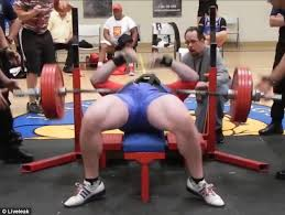Bench Press 1000 Lbs Weightlifter Drops 545lbs On His Chest In Failed Benchpress
