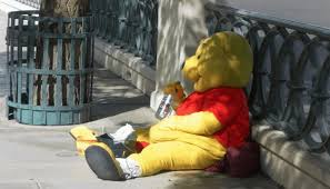 winnie pooh characters faces drugs