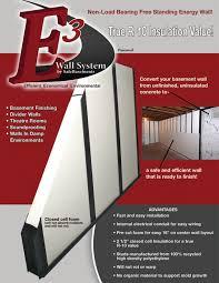 e3 wall system basement wall finishing safebasements