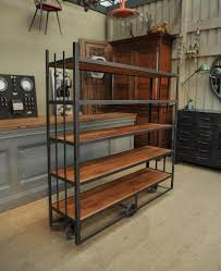Industrial Shelving Unit by Living Room Hirsh Industrial Shelving Unit Wonderful Product