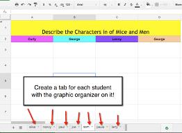 google sheets copy a template for each student teacher tech