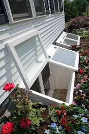 egress windows love that the covers would keep out the snow and