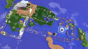 Sinnoh Map Pokecraft