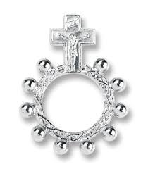 rosary rings pewter rosary rings 25 pieces singer jewelers miami