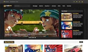 responsive video blogger template free download in 2017