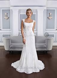 Chiffon Wedding Dresses Alencon Lace U0026 Chiffon Wedding Gown With Tattoo Lace Back Bridal
