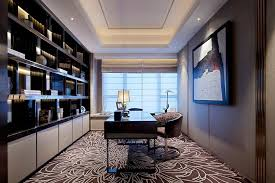 home office with tv office stunning luxury home office decor combine with leather