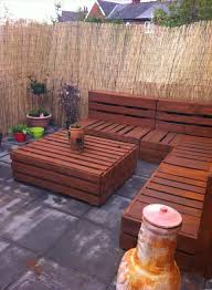 Patio Made Out Of Pallets by Home Design Breathtaking Making A Garden Bench From Pallets