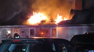 video overnight house fire in brewster