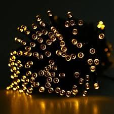 victsing rakuten solar powered led string lights garden
