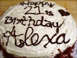 red velvet happy birthday cake sugar lips