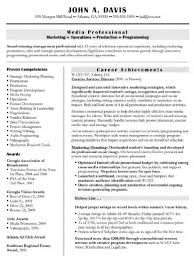 Best Resume Format Executive by Resume Template Cover Letter Executive Templates Free Best For
