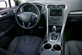 ford fusion titanium interior 2013 ford fusion our review cars com