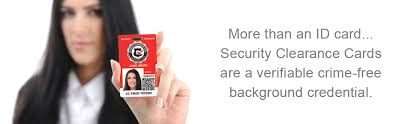 about crimshield security clearance cards