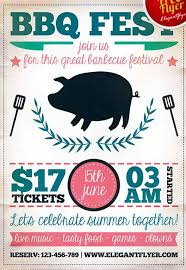 download the bbq fest party free flyer template