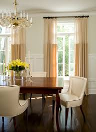 Curtains For Dining Room Windows Impressive Modern Dining Room Curtains Extraordinary Decor Of