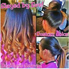 vixen sew in houston stunning houston best hair and undetectable sewin weavings braidless