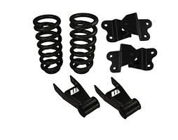 chevy colorado lowered complete lowering leaf springs kit for 2004 and newer chevy gmc