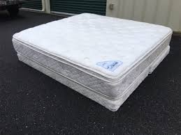 excellent to new condition king size double pillow top original