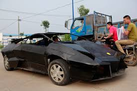fake lamborghini for sale homemade wheels can u0027t afford a supercar build your own
