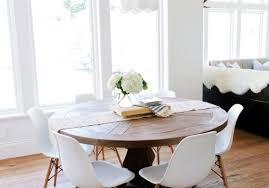 dining best round white breakfast tables imposing round white