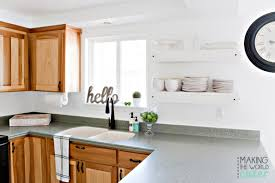 Revamp Kitchen Cabinets How To Do A Kitchen Makeover Stay On Budget And Do It Over A Weekend