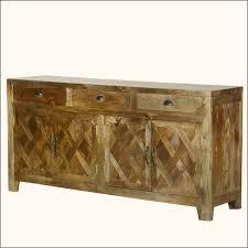 parquet farmhouse mango wood rustic sideboard buffet cabinet