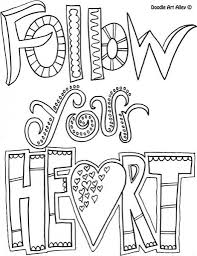 1000 images about coloring pages quotes words letters in the
