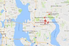 Redmond Washington Map by 2017 Art Is King