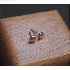mens earrings uk earrings sterling silver stud earrings for every day wear 5mm