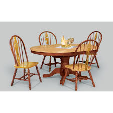Butterfly Dining Room Table Sunset Trading 48 Inch Round Dining Table With Butterfly Leaf