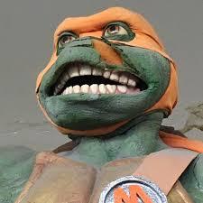Ninja Turtles Meme - zombie michelangelo teenage mutant ninja turtles know your meme