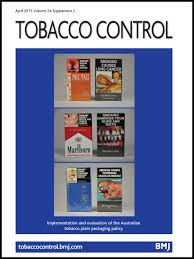 standardised packaging and new enlarged graphic health warnings