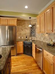 kitchen remodel ideas with maple cabinets maple cabinets home design ideas pictures remodel