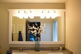 framing bathroom mirrors with crown molding home