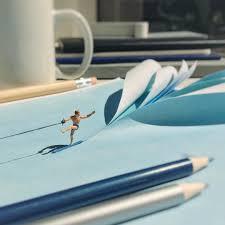 Mini Schreibtisch Derrick Lin Verwandelt Seinen Schreibtisch In Eine Mini Welt