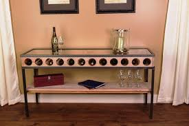 console table with wine storage console table with wine storage console table making wine