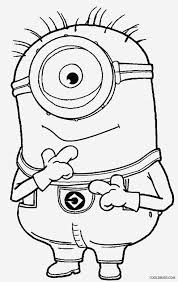 printable despicable coloring pages kids cool2bkids