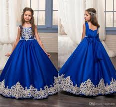 pageant dresses 2017 toddler gown royal