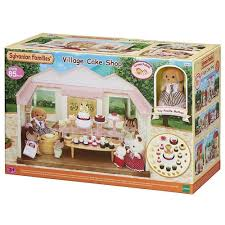 sylvanian families garden set buy sylvanian families village cake shop online at toy universe