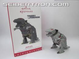 hallmark transformers g1 grimlock ornament released