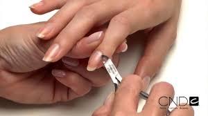 cnd vinylux nail polish application youtube
