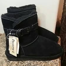 s shoes and boots size 9 46 paw shoes nwt paw black suede boots size