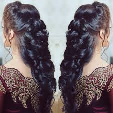 pre wedding hair goals entwined hair look for cocktail hair