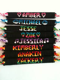 friendship bracelet with name images Name bracelets custom made friendship bracelets jpg