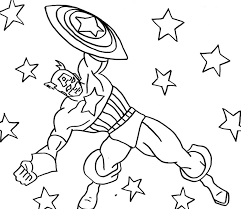 captain america coloring pages fablesfromthefriends