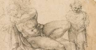 how a curator attributed this drawing to michelangelo cetusnews