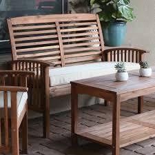 loveseat elegant outdoor patio yard glider loveseat bench high