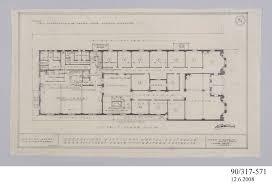 pencil drawing first floor plan hotel australia perth wa